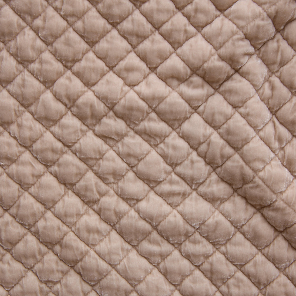 Bella Notte Silk Velvet Quilted Large Throw Blanket