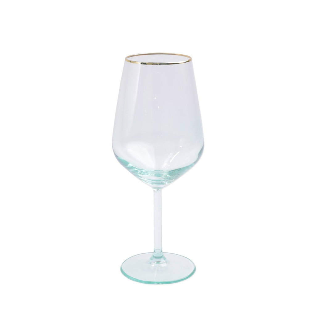 Rainbow Assorted Wine Glasses - Set of 4