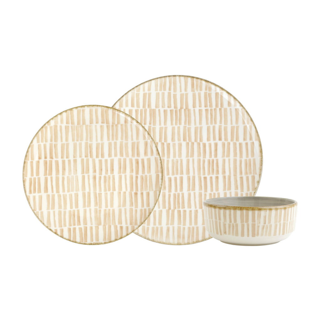 Earth Bamboo 3-Piece Place Setting