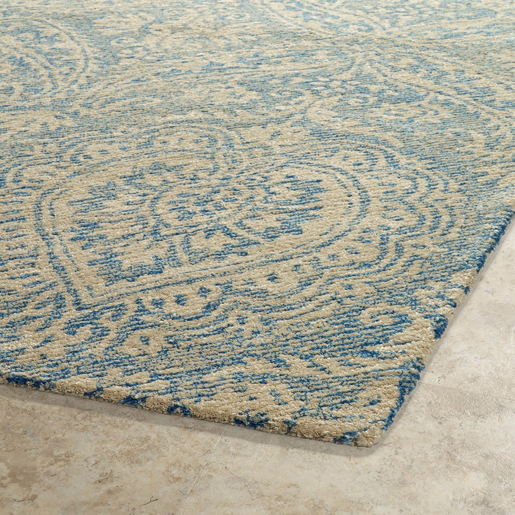 Weathered Blue Indoor/Outdoor Rug
