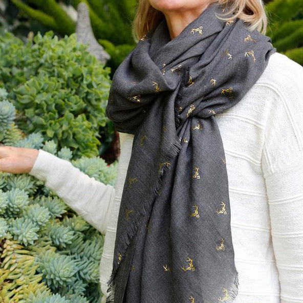 Pom Pom at Home Antler Scarf