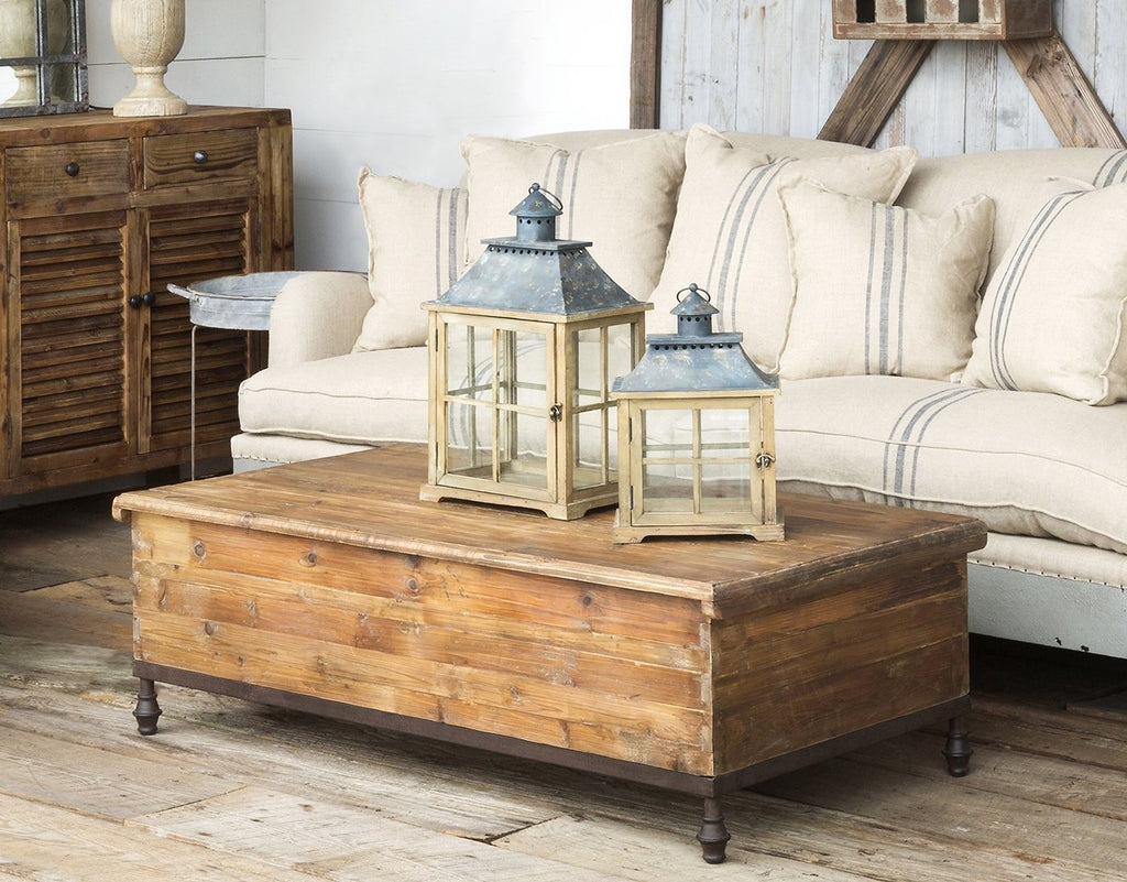 Vintage Style Trunk Coffee Table