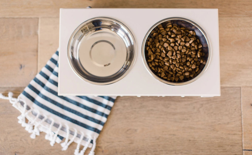Helpen Pets SCROLLIE Elevated Pet bowls