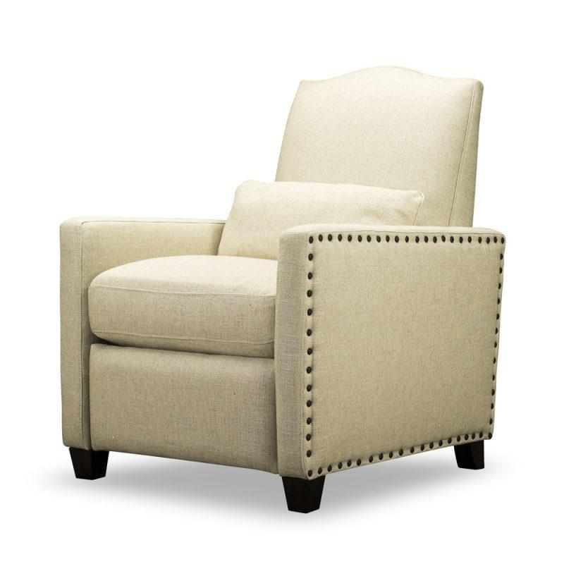 Shields Push Back Recliner in Tribecca Natural
