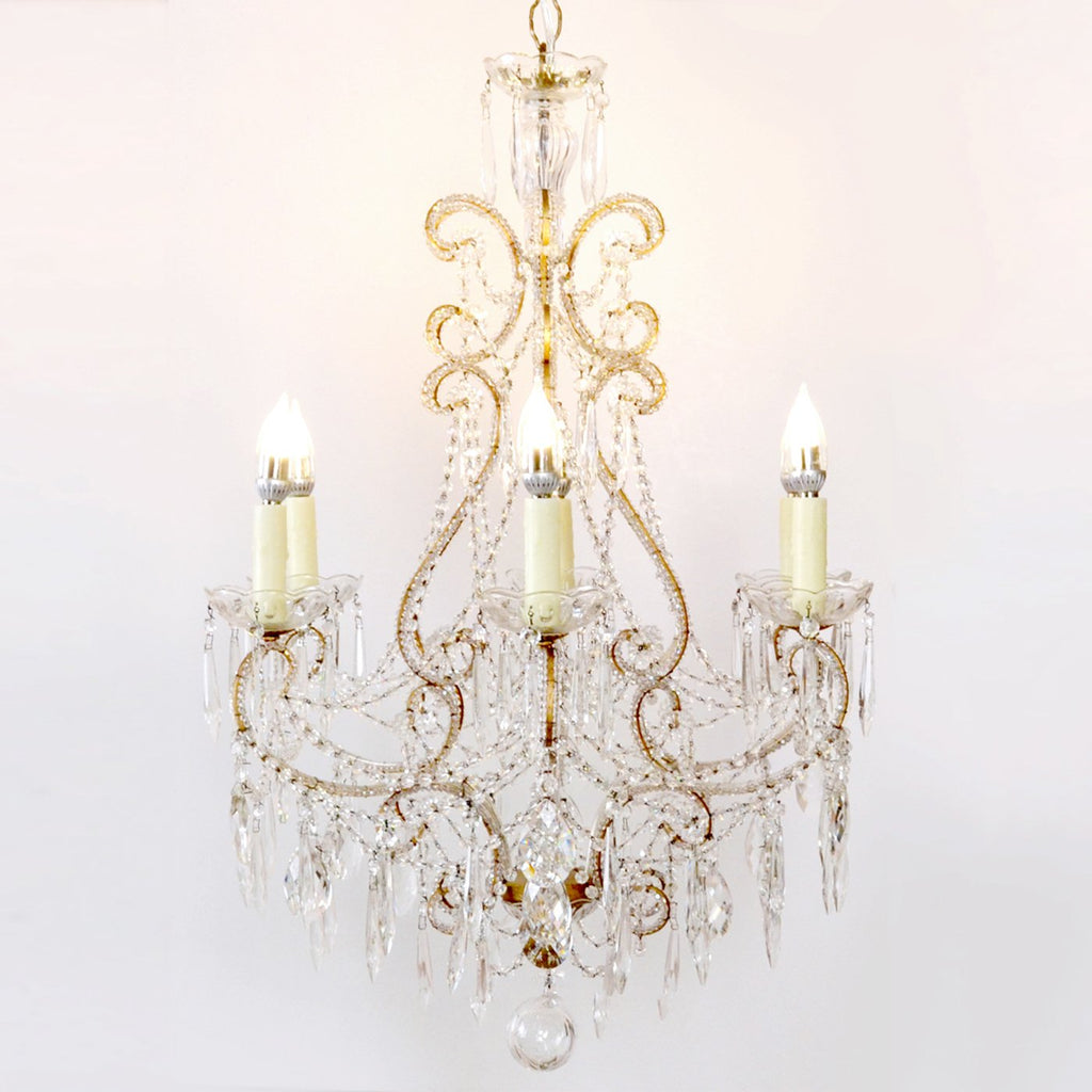 Traditional Chandelier Crystal Clear