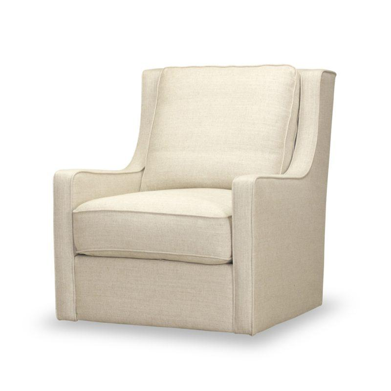 Kline Swivel Chair in Windfield Natural
