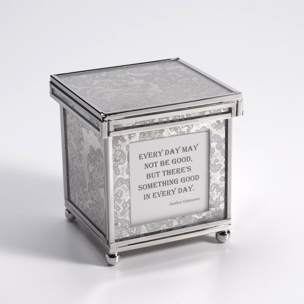Decorative Inspirational Quote Box