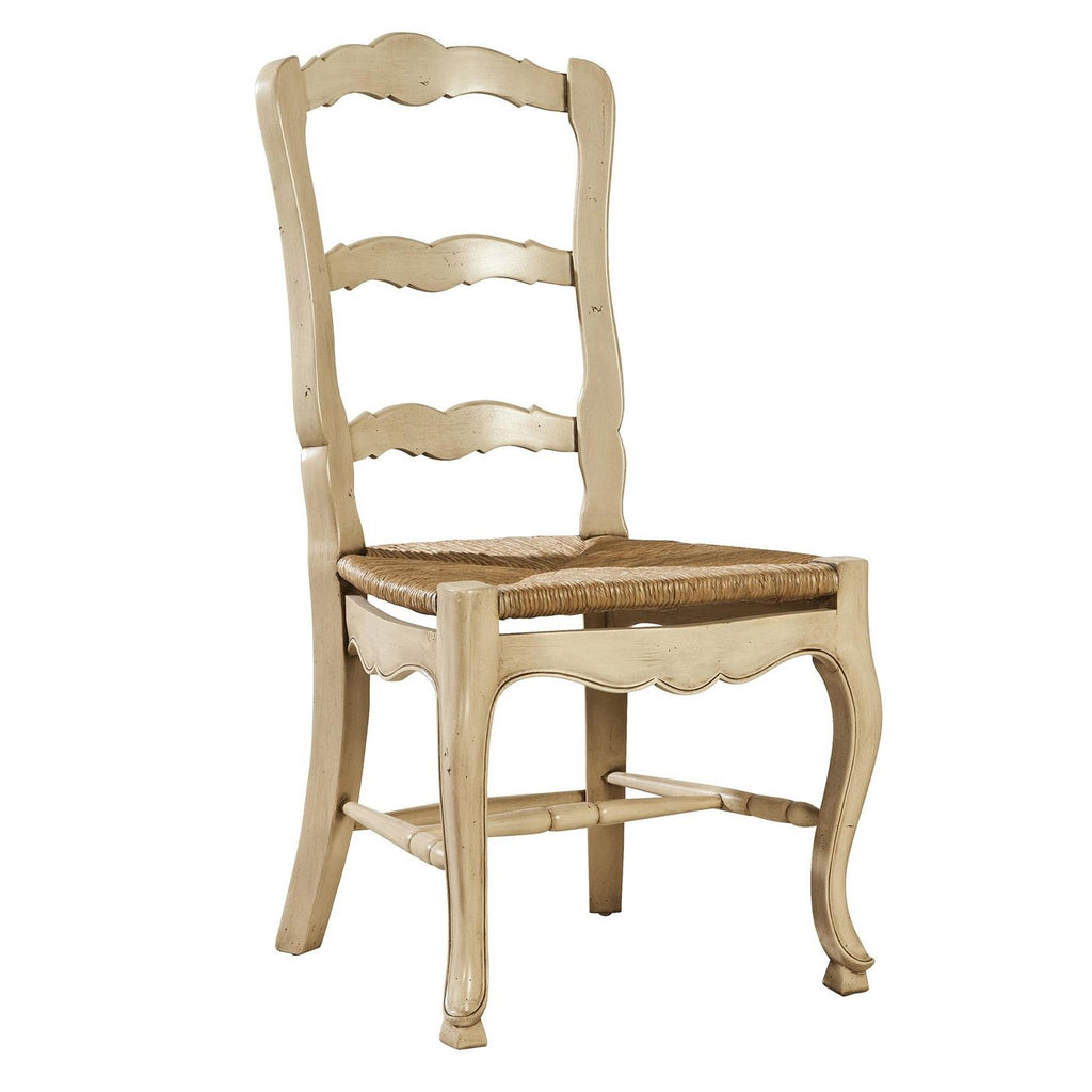 Mahogany Ladderback Side Chair in Natural