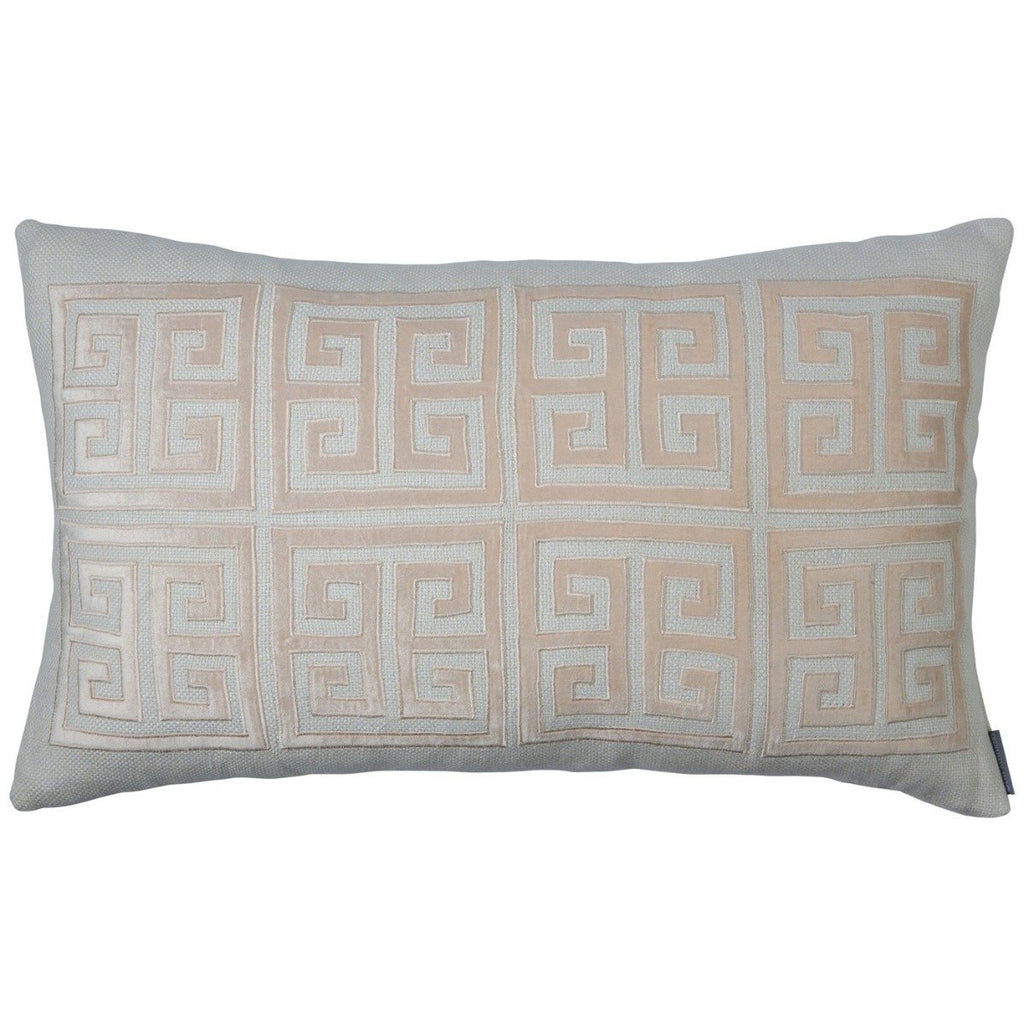 Lili Alessandra Greek Key Throw Pillow