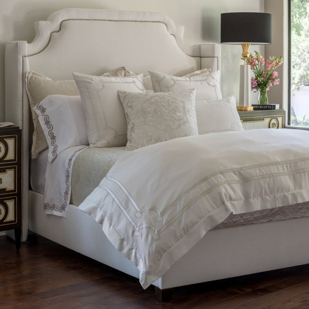 Lili Alessandra Vendome Silk Duvet Cover