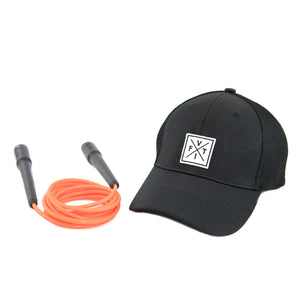 Combo The Fit Rope Naranja + Snapback [V1]