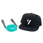 Combo The Fit Rope Verde Menta + Snapback [ICONO]