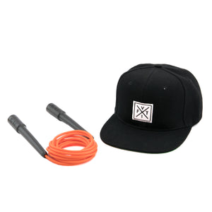 Combo The Fit Rope Naranja + Snapback [LOGOS]