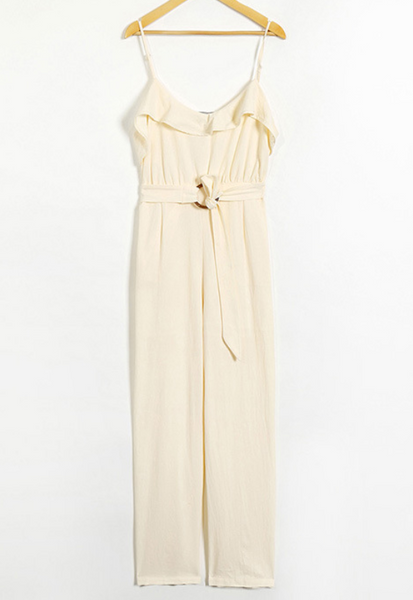 Boho Ruffled Jumpsuit