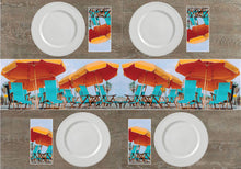 Load image into Gallery viewer, Beach Chairs Napkins & Table Runners