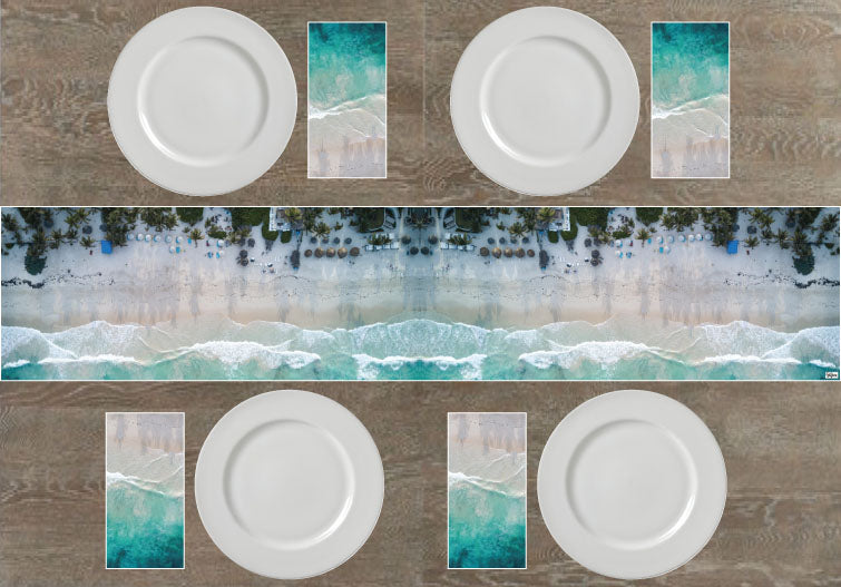 Beachfront Resort Napkins & Table Runners