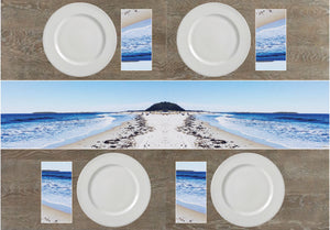 Gifteehome beach napkins and table runner