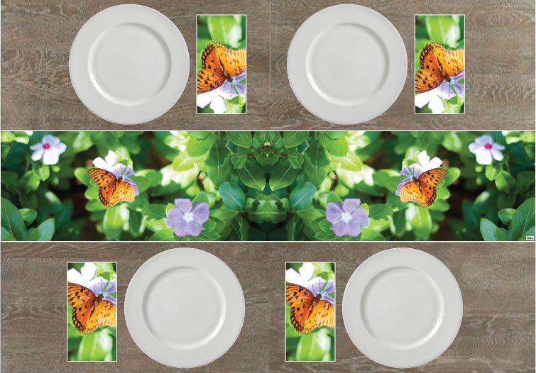 Butterfly Napkins & Table Runners