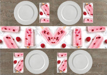 Load image into Gallery viewer, Cold Treats Napkins & Table Runners