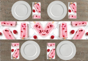 Cold Treats Napkins & Table Runners