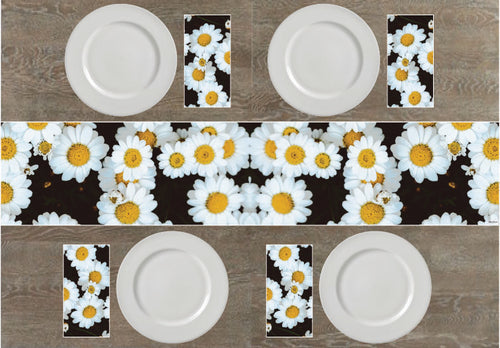 Gifteehome daisies napkins and table runners