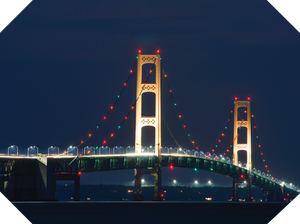 Mackinaw Bridge Placemats