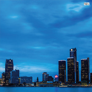 Detroit Skyline Napkins & Table Runners
