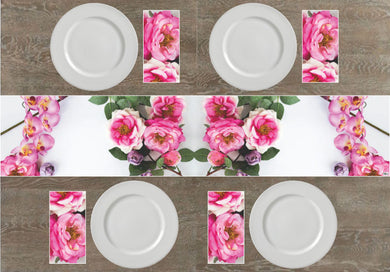 Roses Napkins & Table Runners