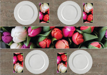 Load image into Gallery viewer, Tulips Napkins & Table Runners