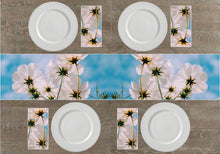 Load image into Gallery viewer, White Flowers Napkins & Table Runners