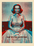 Gay Witch Abortion Tour Poster Mavrick Promo Screen Print