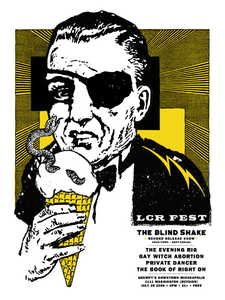 LCR Fest Screen Printed Poster Miss Amy Jo