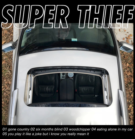"Super Thief ""Eating Alone In My Car"" LP"