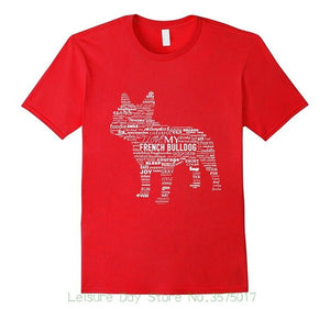 French Bulldog Words Tee