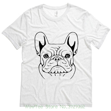 French Bulldog Sketch Mens Tee
