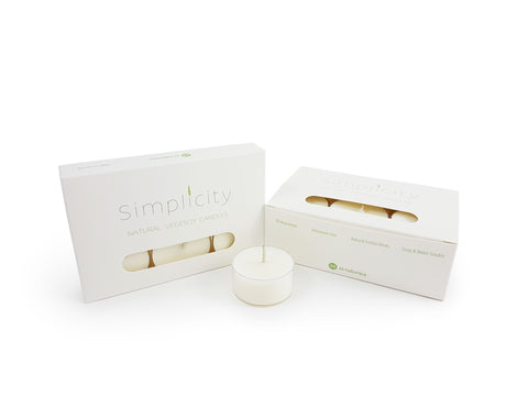 Simplicity Soy Tealight Candles