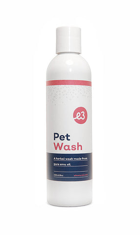 Organic Herbal Pet Wash 240 ml
