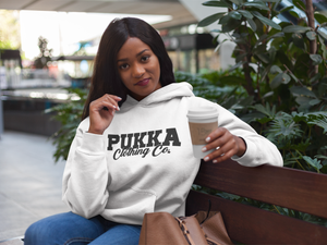 Pukka Clothing Co. Signature White Hoodie