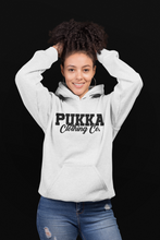 Load image into Gallery viewer, Pukka Clothing Co. Signature White Hoodie