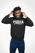Load image into Gallery viewer, Pukka Clothing Co. Signature Black Hoodie