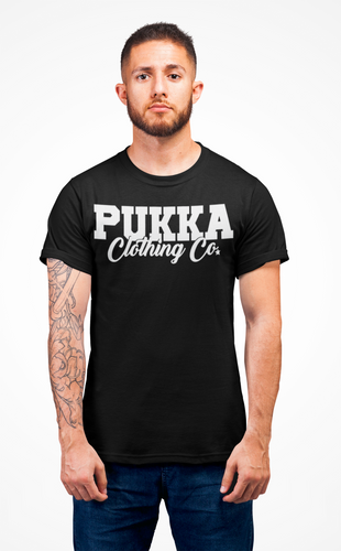 Pukka Clothing Co. Signature Black T-Shirt