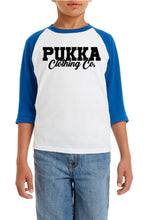 Load image into Gallery viewer, Youth Genuine & Authentic Pukka Signature Raglan