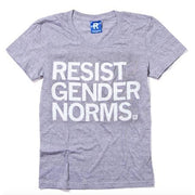 Resist Gender Norms T-Shirt, Hourglass Cut