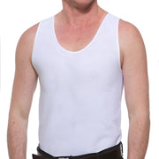 Underworks Double Front Compression Chest Binder 997- Anton, White