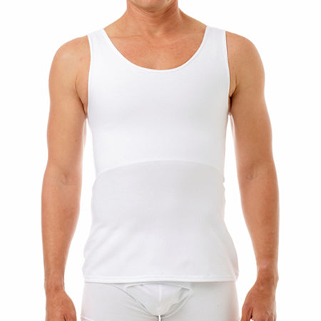 Underworks Cotton Concealer Chest Binder 988- Luis, White