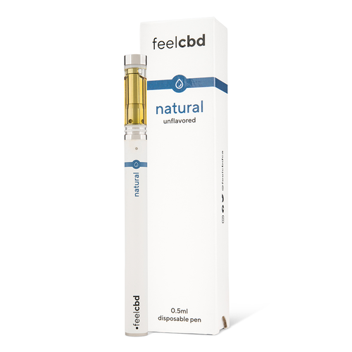 Natural Disposable Pen - Feel CBD