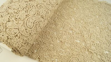 Cotton Lace - Beige