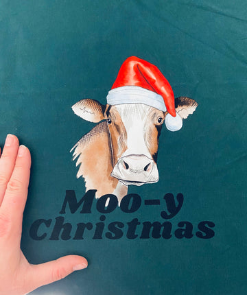 R9  - Christmas Cows - Panel Pack of 3