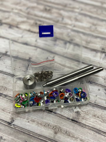 "1/4 "" Coloured Grommet Sets"