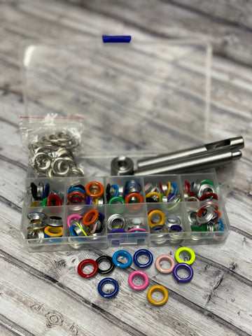 "3/8 "" Coloured Grommet Sets"